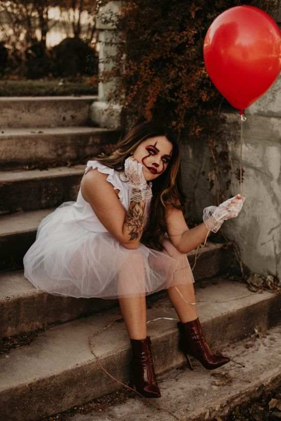 Wild + You   Pennywise Costume