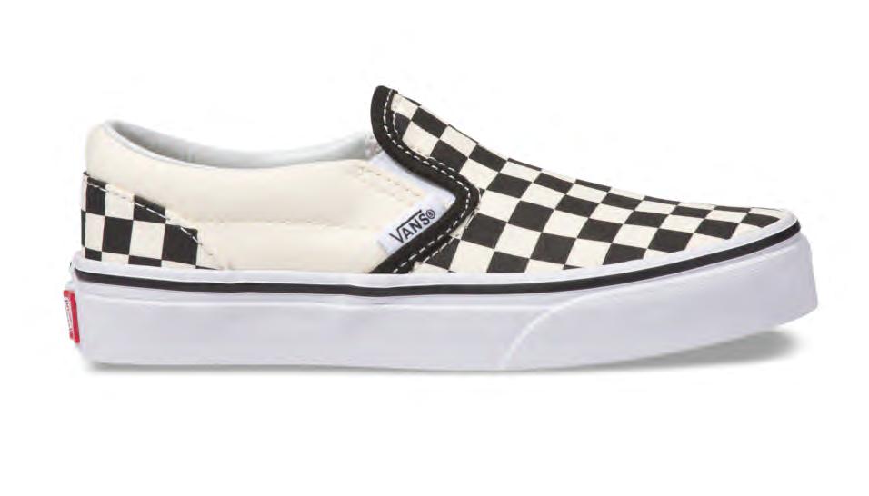 Checkerboard Slip-On Vans