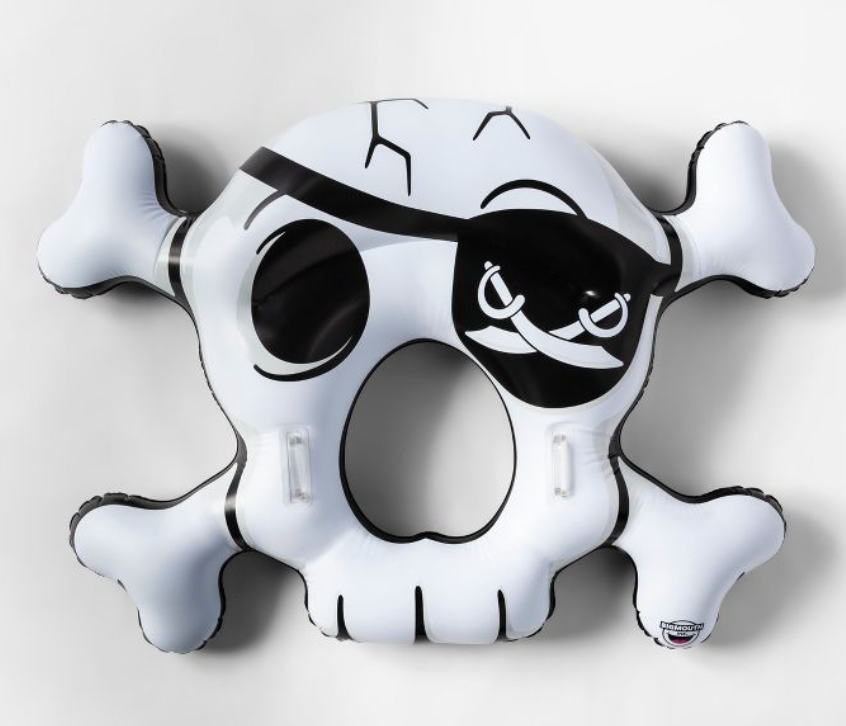Pirate Skull Pool Float