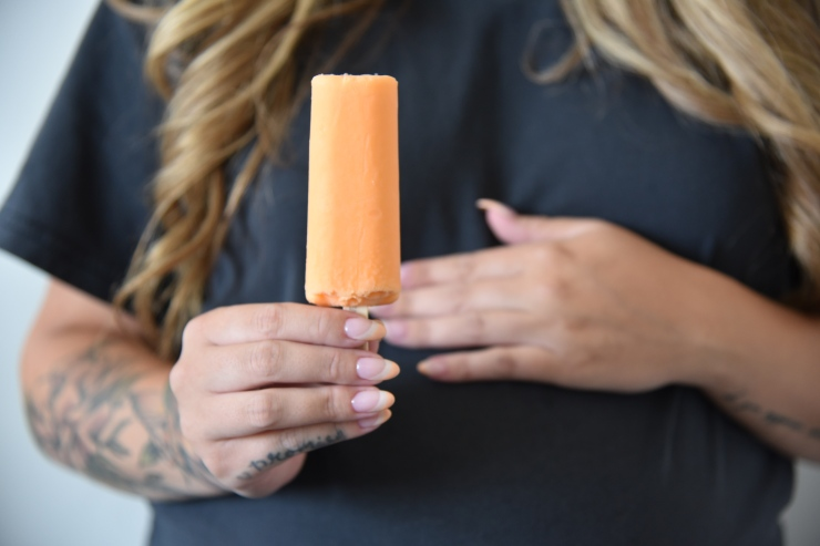 Wild + You   Orange Creamie Inspired Nails